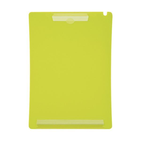 (まとめ) ライオン事務器 アンケートボードA4タテ ライトグリーン QB-220 1枚 【×50セット】