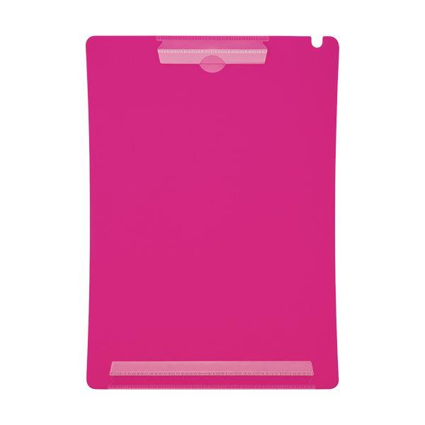 (まとめ) ライオン事務器 アンケートボードA4タテ ピンク QB-220 1枚 【×50セット】