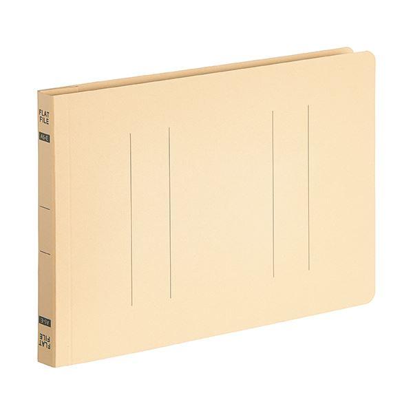 【スーパーセールでポイント最大44倍】(まとめ) TANOSEEフラットファイルE(エコノミー) A5ヨコ 150枚収容 背幅18mm イエロー 1パック(10冊) 【×30セット】