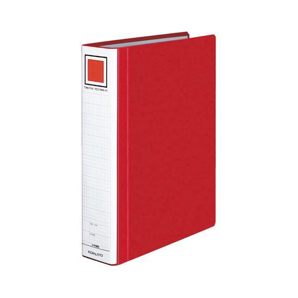 【スーパーセールでポイント最大44倍】(まとめ) コクヨ チューブファイル(エコツインR) A4タテ 500枚収容 背幅65mm 赤 フ-RT650R 1冊 【×10セット】