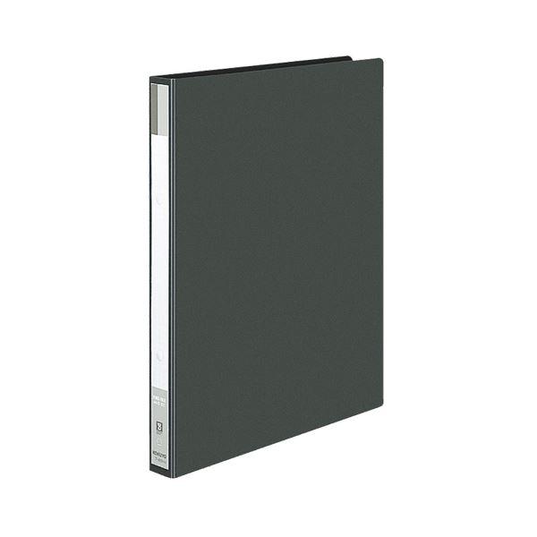 【スーパーセールでポイント最大44倍】(まとめ) コクヨ リングファイル 色厚板紙表紙 A4タテ 2穴 170枚収容 背幅30mm 黒 フ-420ND 1冊 【×30セット】
