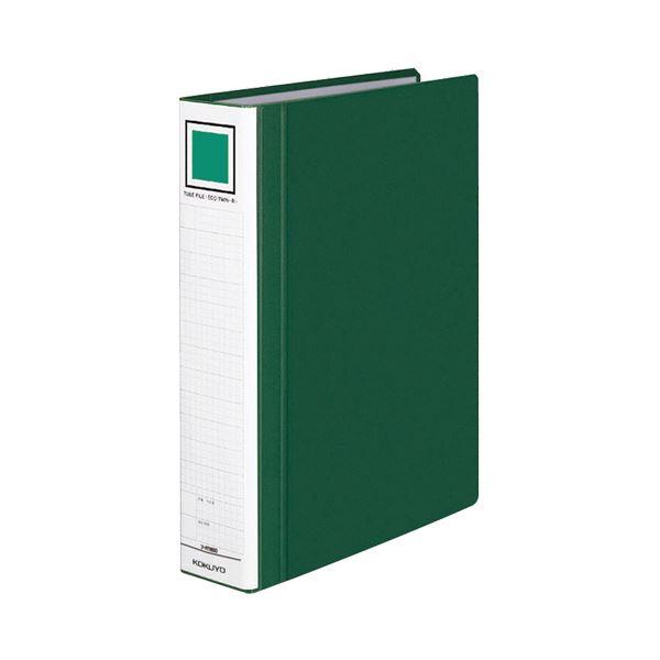 【スーパーセールでポイント最大44倍】(まとめ) コクヨ チューブファイル(エコツインR) A4タテ 500枚収容 背幅65mm 緑 フ-RT650G 1冊 【×10セット】