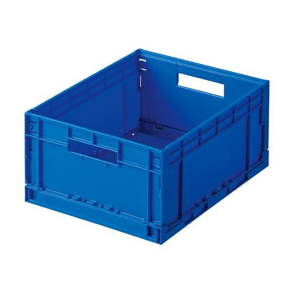 (まとめ) 岐阜プラスチック工業 折りたたみコンテナ F-BOX 13L F-BOX112G 1台 【×10セット】