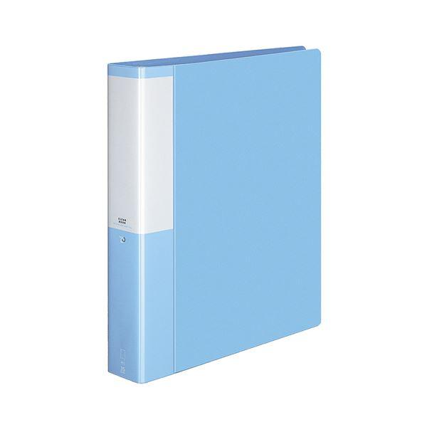 【スーパーセールでポイント最大44倍】(まとめ) コクヨ クリヤーブック(クリアブック)(POSITY) 替紙式 A4タテ 30穴 35ポケット付属 背幅53mm ライトブルー P3ラ-L740LB 1冊 【×10セット】