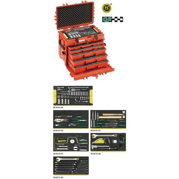 STAHLWILLE(スタビレー) 13214AWT/LR 航空機整備工具セット (98814905)