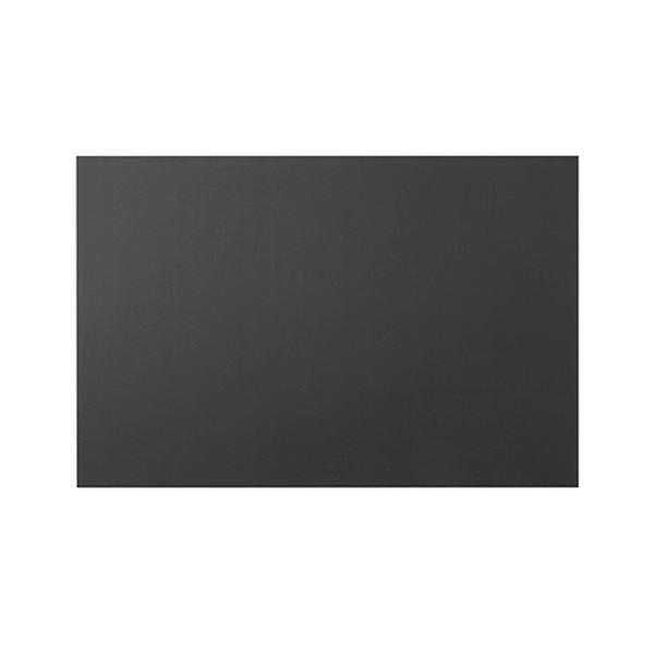 【スーパーセールでポイント最大43倍】プラチナ 黒ハレパネ 片面糊付 B11080×760×5mm AB1-5-2400B 1パック(10枚)