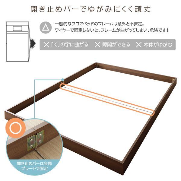 【マラソンでポイント最大44倍】ベッド 低床 ロータイプ すのこ 木製 コンパクト ヘッドレス シンプル モダン ナチュラル シングル ポケットコイルマットレス付き