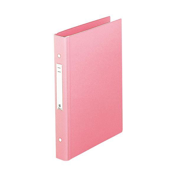 (まとめ) リヒトラブメディカルサポートブック・スタンダード A4タテ 30穴 280枚収容 ピンク HB678-5 1冊 【×10セット】