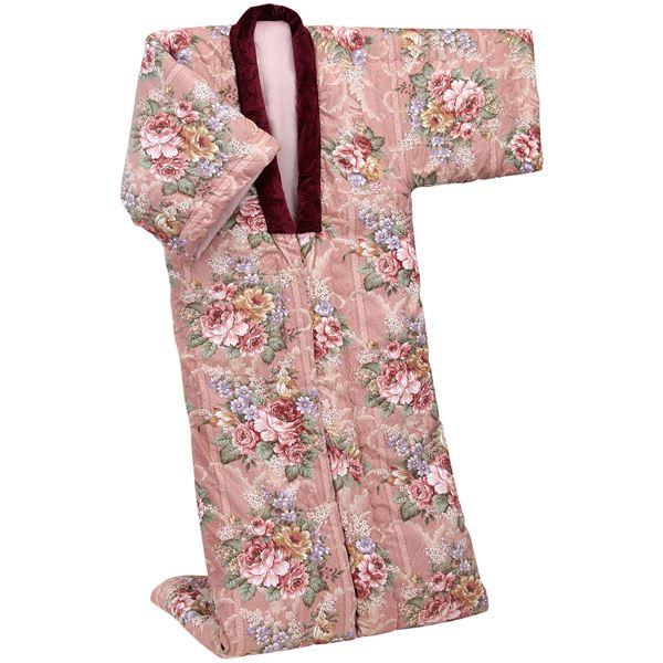 英国羊毛ボリュームかいまき布団(増量タイプ) ピンク【代引不可】