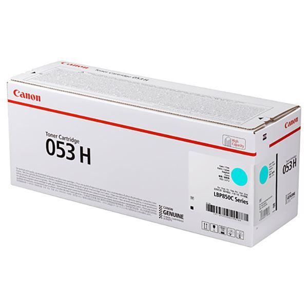 【純正品】CANON 2195C001 トナーカートリッジ053Hシアン