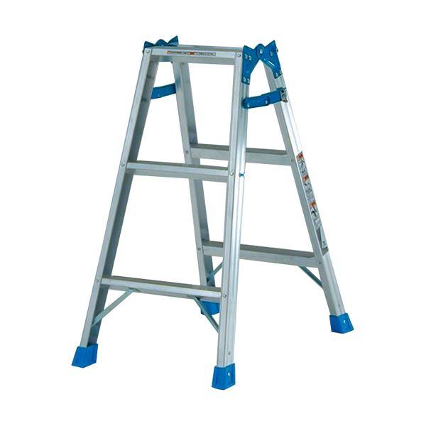 (まとめ)ピカ ステップ幅広 はしご兼用脚立 810mm KW-90 1台【×3セット】