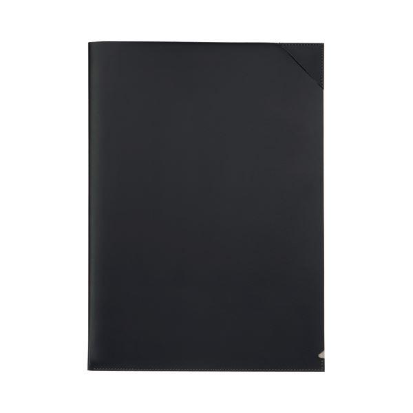 【スーパーセールでポイント最大44倍】(まとめ) プロッシモ リサイクルレザー クリアジャケット A4 ブラック PRORCJA4BK 1冊 【×10セット】