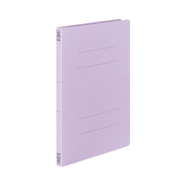【スーパーセールでポイント最大44倍】コクヨフラットファイルV(樹脂製とじ具) A4タテ 150枚収容 背幅18mm 紫 フ-V10V1セット(100冊:10冊×10パック)