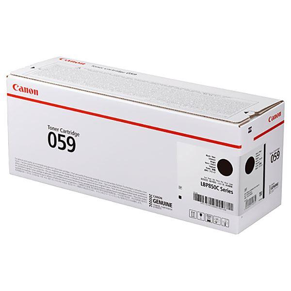 【純正品】CANON 3623C001 トナーカートリッジ059ブラック
