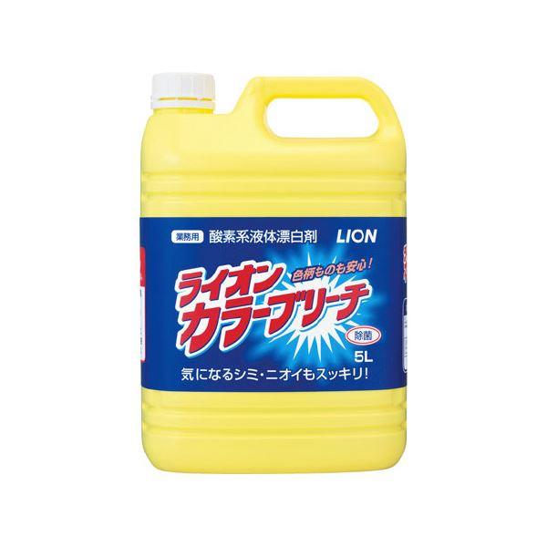 (まとめ)ライオン カラーブリーチ 5L×3本【×2セット】