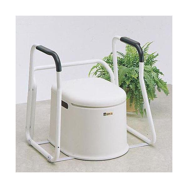 山崎産業ポータブルトイレP型用アームレスト PT-AM 1台