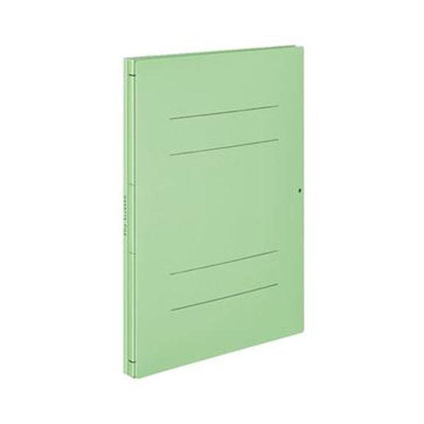 (まとめ)コクヨ ガバットファイル(ツイン)(活用タイプ・紙製)A4タテ 1000枚収容 背幅19~119mm 緑 フ-VT90Ng 1セット(10冊)【×3セット】