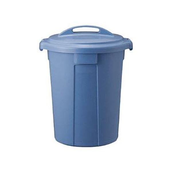 (まとめ)TRUSCO PPペール丸型 本体75L ブルー TPPM-70-B 1個(フタ別売)【×3セット】