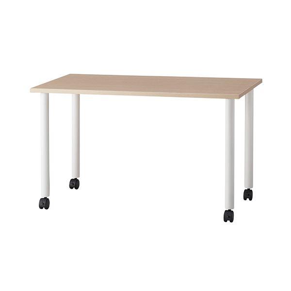 熱い販売 G-Style エコノミーキャスターテーブル 長方形 幅1200×奥行600mm ナチュラル OGRECTT-WL1260NA 1台, アナザーセレクト 44e7fd2c