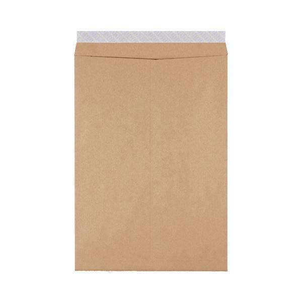 ピース 発送用封筒スーパークラフトテープ付 角1 100g/m2 業務用パック 736-00 1箱(500枚)