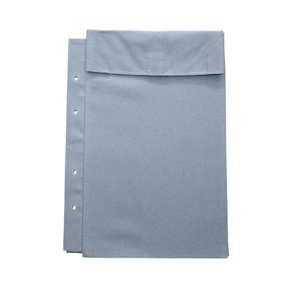 (まとめ)マービー 布図面袋A4規格4穴ハトメ無014-0170マチ3cm【×50セット】