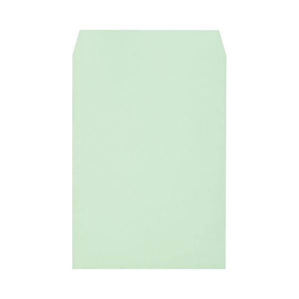 (まとめ)キングコーポレーション ソフトカラー封筒角2 100g/m2 グリーン 業務用パック 160208 1箱(500枚)【×3セット】