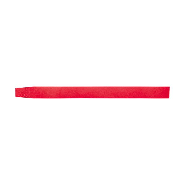 【スーパーセールでポイント最大44倍】(まとめ) ソニック イベント用リストバンド使い捨てタイプ 赤 NF-3567-R 1パック(100本) 【×10セット】