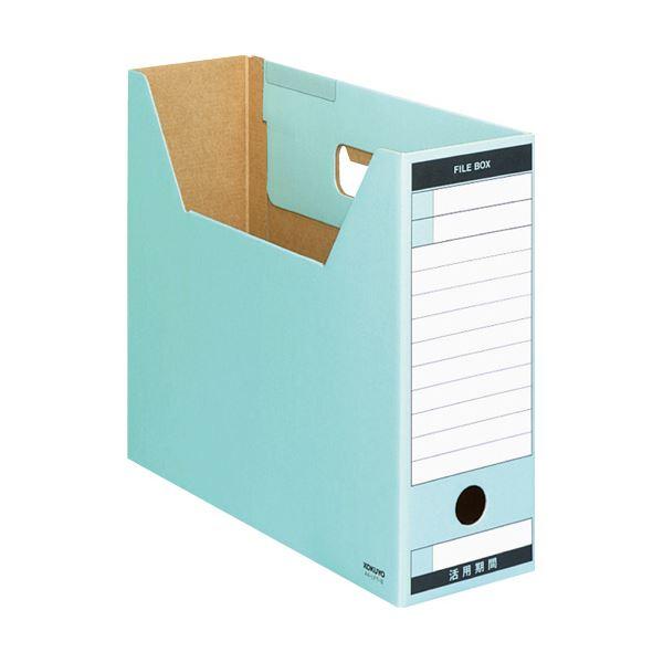 (まとめ) コクヨファイルボックス-FS(Tタイプ) A4ヨコ 背幅102mm 青 A4-LFT-B 1冊 【×30セット】