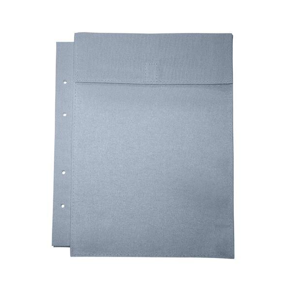 (まとめ)マービー 布図面袋A4規格4穴ハトメ無014-0171マチ5cm【×50セット】