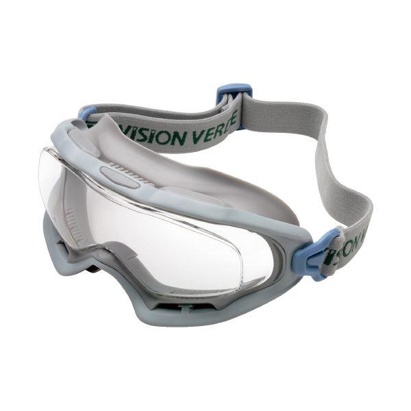 【マラソンでポイント最大44倍】(まとめ)ミドリ安全 無気孔ゴーグル VG-503FNV 防曇(×2セット)