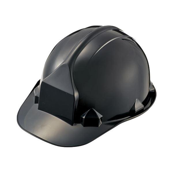 (まとめ)加賀産業 ヘルメット つば付 アメリカン型 Nブラック【×10セット】