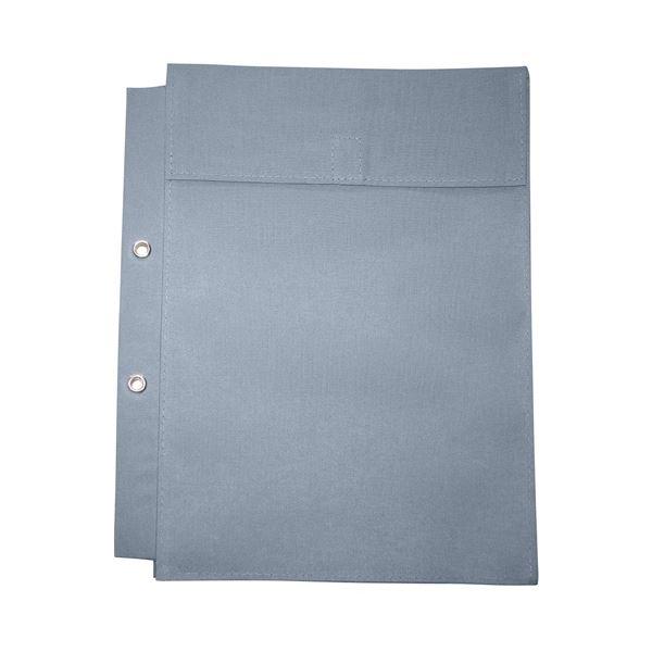 (まとめ)マービー 布図面袋A4規格2穴ハトメ付014-0173マチ5cm【×30セット】