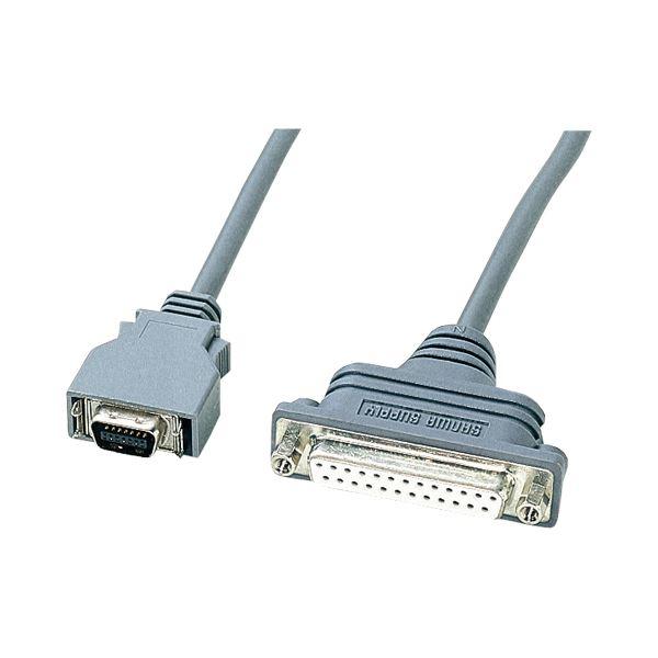 (まとめ) サンワサプライ RS-232CケーブルNEC PC9821ノート対応 (セントロニクスハーフ14pin)オス-(D-Sub25pin)メス KRS-HA1502FK1本 【×10セット】