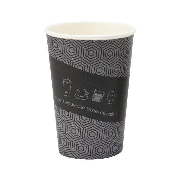 (まとめ)サンナップ 厚紙カップ タッセドカフェ 400mL 50個入【×30セット】