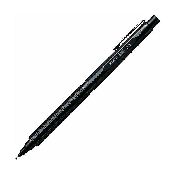 新作人気 ぺんてる シャープペンシルorenznero(オレンズネロ) 0.3mm (軸色:ブラック) PP3003-A 1本 【×10セット】, ナガワマチ f5700cf2