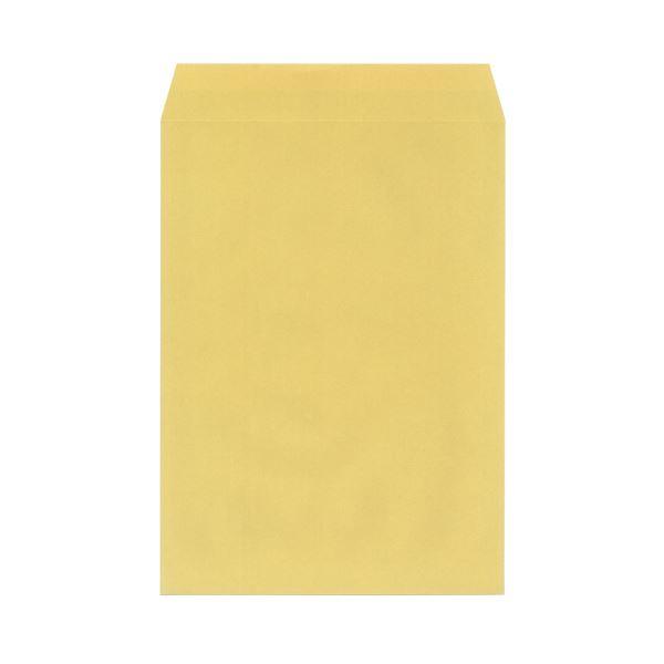 (まとめ)今村紙工 地紋入クラフト封筒 角2 100枚テープ付(×10セット)