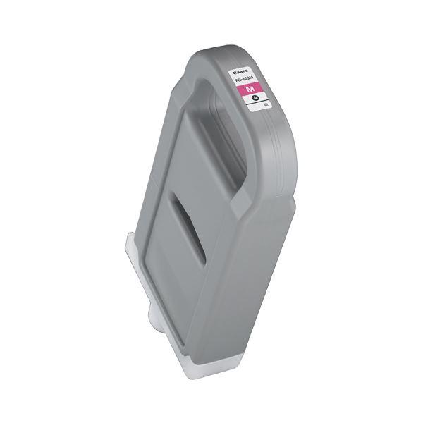 (まとめ) キヤノン Canon インクタンク PFI-703 染料マゼンタ 700ml 2965B001 1個 【×5セット】