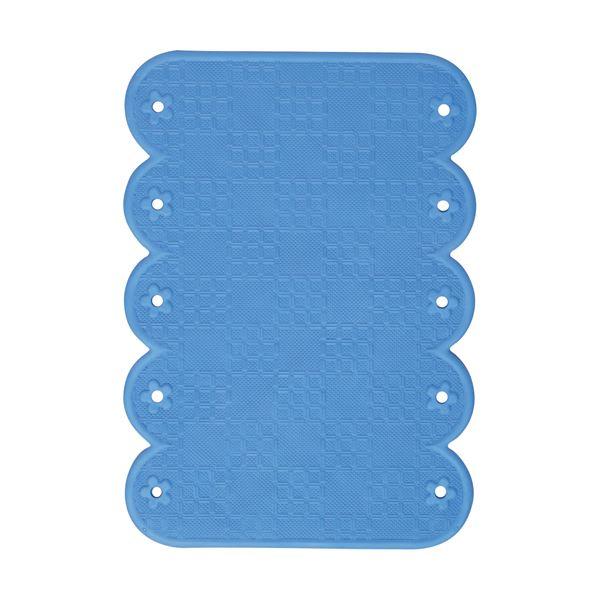 (まとめ)ワイズ スベリを防ぐ手すりマット20×28cm ブルー BW022 1枚【×10セット】