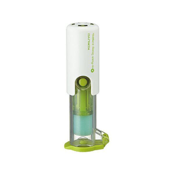 (まとめ) コクヨビニールパッチホルダー(ワンパッチスタンプ) グリーン タ-PSM10G 1個 【×30セット】