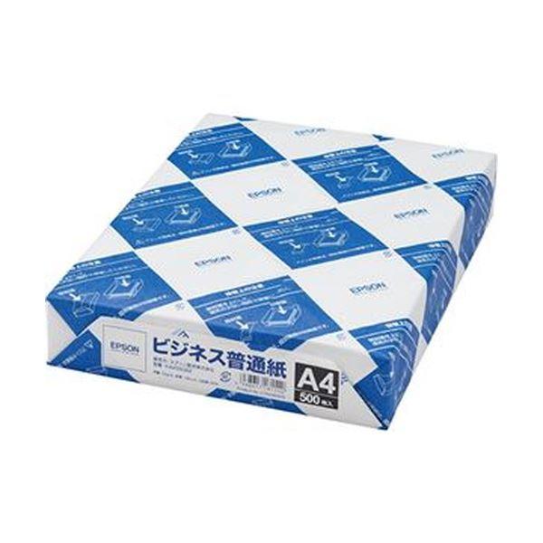 (まとめ)エプソン ビジネス普通紙 A4KA4500BZ 1冊(500枚)【×20セット】