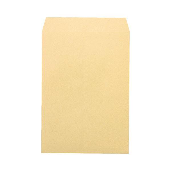 (まとめ) ピース 再生クラフト封筒(厚口タイプ) 角2 120g/m2 〒枠なし 715 1パック(70枚) 【×10セット】