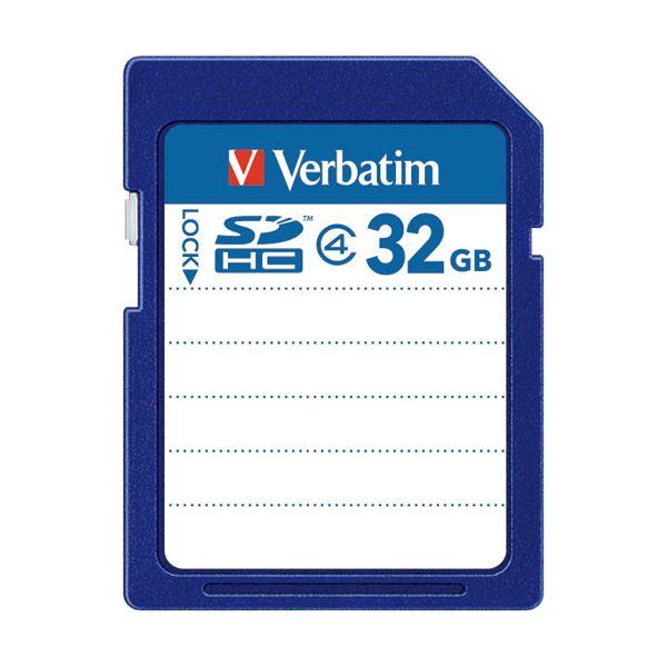 (まとめ) バーベイタム SDHCカード 32GBClass4 SDHC32GYVB1 1枚 【×5セット】