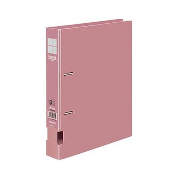ユニバーサルデザイン 書類が水平に開き 閲覧性に優れたDリングファイルです まとめ コクヨ DリングファイルS型再生PP表紙 B5タテ 2穴 1セット フ-FD431NP 訳ありセール 格安 300枚収容 ×10セット 4冊 ストアー ピンク 背幅45mm