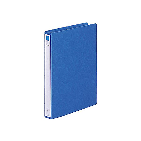 【スーパーセールでポイント最大44倍】(まとめ) リヒトラブ リングファイル(ツイストリング) A4タテ 2穴 200枚収容 背幅35mm 藍 F-803UN-5 1冊 【×30セット】