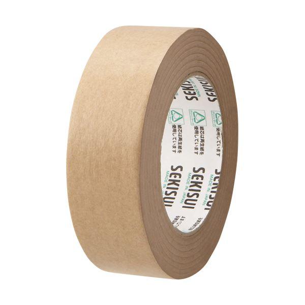 【スーパーセールでポイント最大44倍】(まとめ) 積水化学 クラフトテープ 38mm×50m K51X12 1巻 【×50セット】
