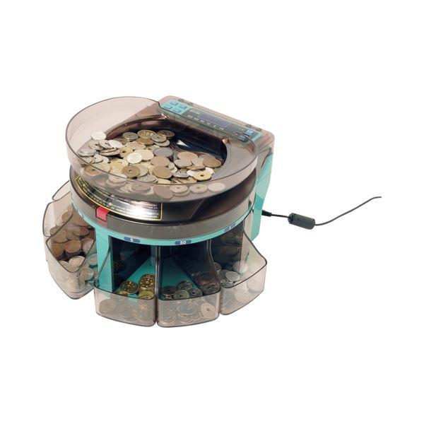 エンゲルス 電動小型硬貨選別機コインソーター SCS-200 1台