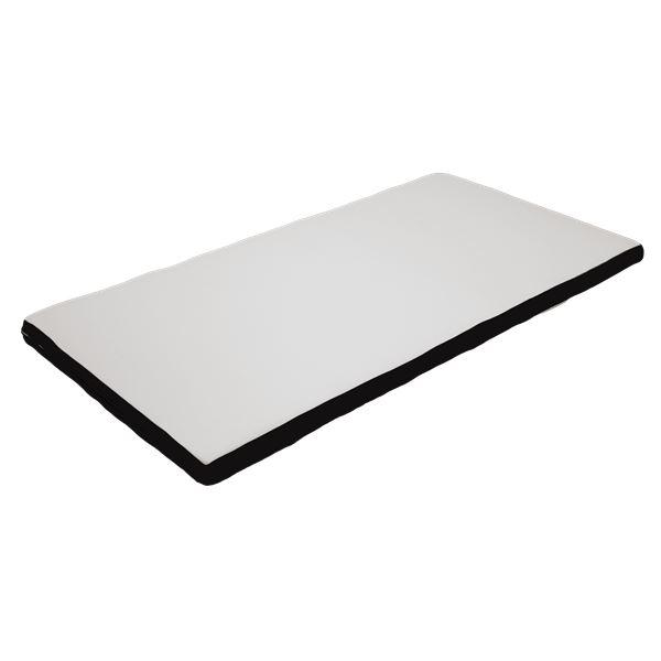 高反発マットレス ホワイト 【幅97×長さ201cm】