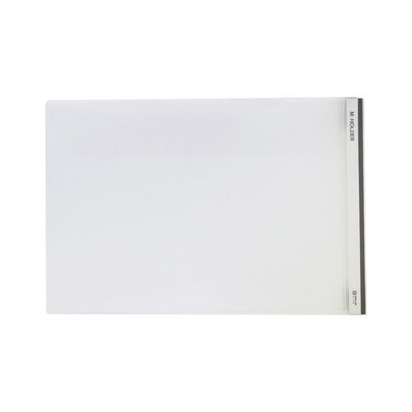 (まとめ) キングジム Mホルダー 乳白 [縦216×横318×マチ10mm]【×50セット】