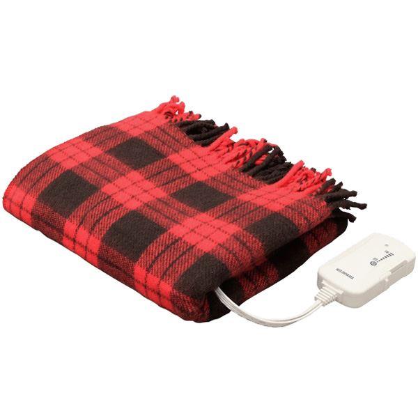 アイリスオーヤマ 電気毛布 ひざ掛け 60×120cm