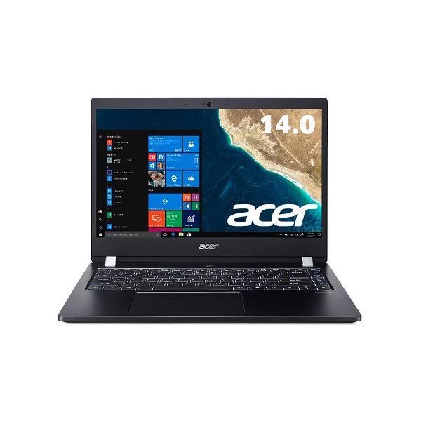 Acer TMX3410M-F78UBL6 (Core i7-8550U/8GB/256GBSSD+500GB HDD/ドライブなし/14型/フルHD/指紋認証/Windows 10 Pro64bit/LAN/HDMI/1年保証/Office Personal 2016)